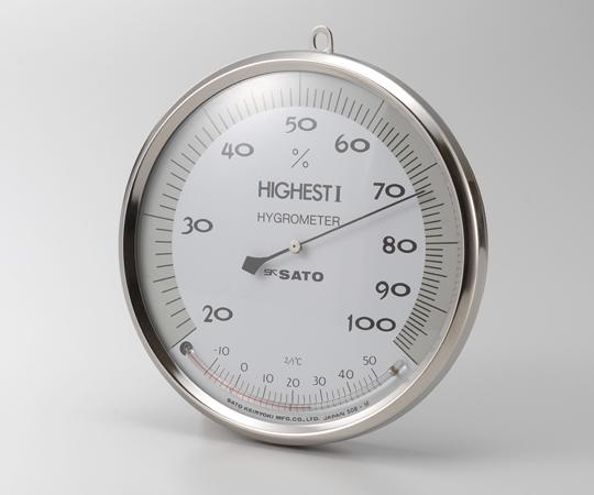 ハイエストⅠ型湿度計温度計付 150mm