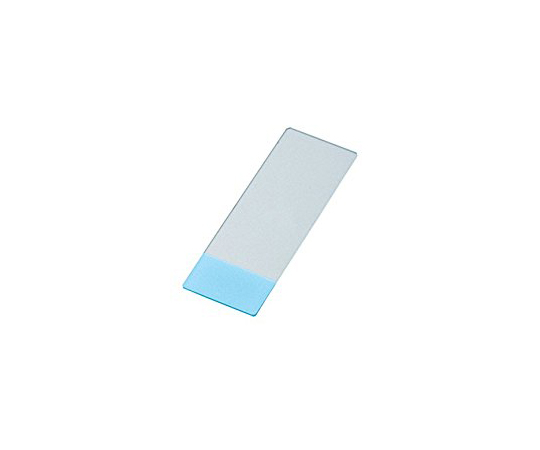 Antistripping Coat Slide Glass (MAS-GP Type A) 26 x 15mm Blue 100 Pieces S9904