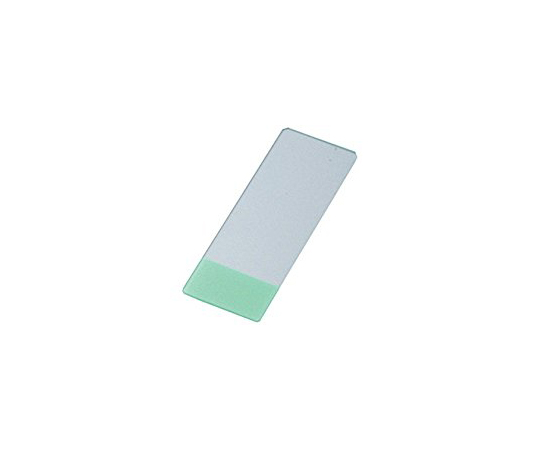 Antistripping Coat Slide Glass (MAS-GP Type A) 26 x 15mm Green 100 Pieces S9905