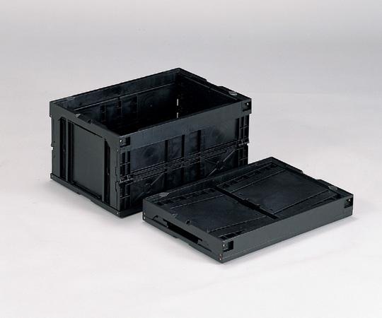 折りたたみコンテナー(導電) 40B-N 40B-N(BK)