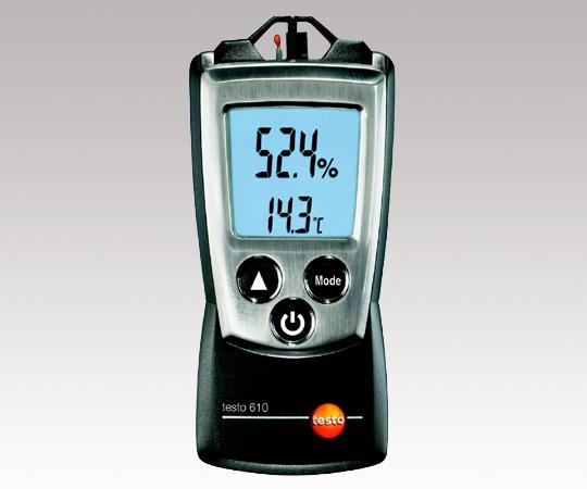 ポータブル温湿度計 testo610
