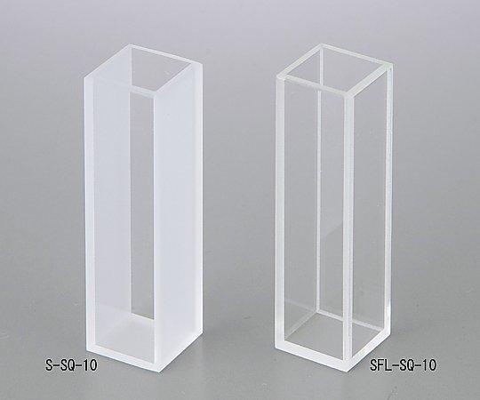 [取扱停止]石英セル (オプティカルコンタクト) 二面透明タイプ S-SQ-10