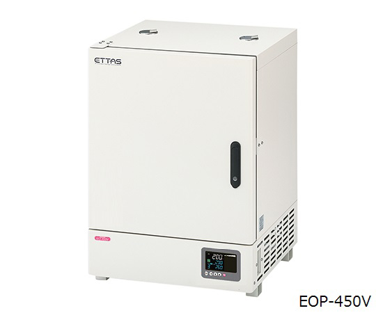 ETTAS 定温乾燥器 (プログラム機能付き・自然対流式) EOP-450V 91L (出荷前点検検査書付き)