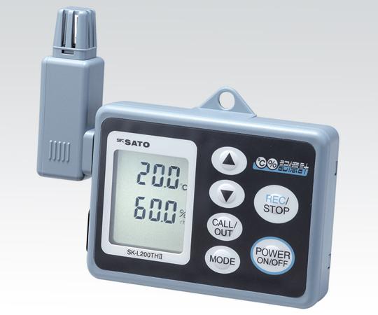 記憶計(R)SK-L200THⅡα(温湿度一体型)