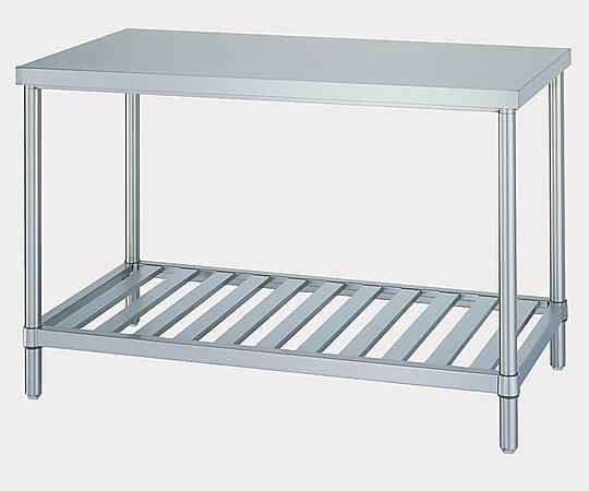 [受注停止]ステンレス作業台 (SUS304・スノコ棚仕様) 750×600×800