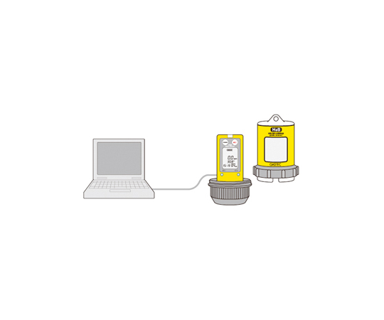 拡散式硫化水素測定器 GHSー8AT 500ppm レンタル10日