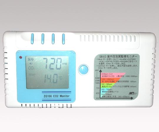室内CO2モニター ZG106