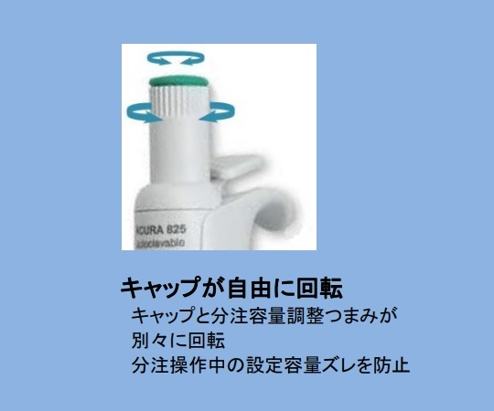 マイクロピペット(アキュラ) 826.1000