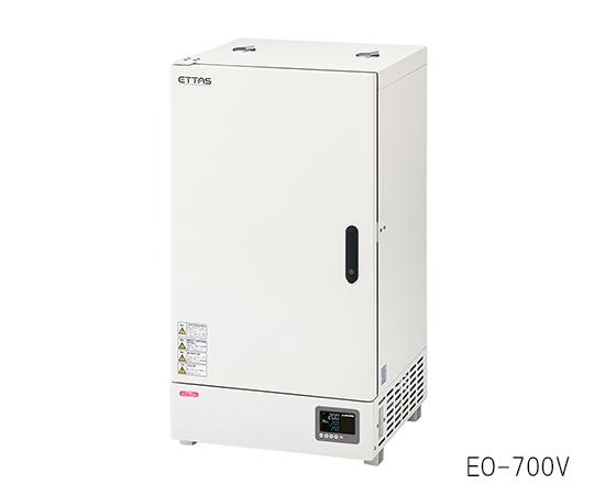 定温乾燥器 (プログラム機能付き・自然対流式) EOP-700V 135L (出荷前点検検査書付き)