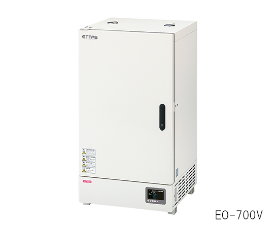 ETTAS 定温乾燥器 (プログラム機能付き・自然対流式) EOP-700V 135L (出荷前点検検査書付き)