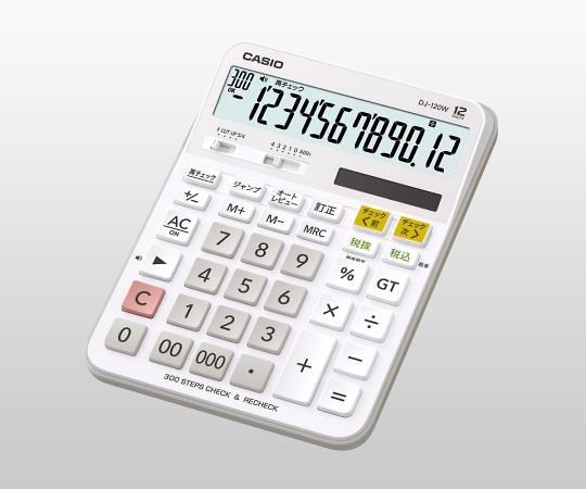 W計算チェック電卓 DJ-120W-N