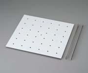 デシケーター予備棚板 強化プラスチック棚 490×460mm
