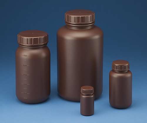 標準規格瓶 丸型広口 遮光