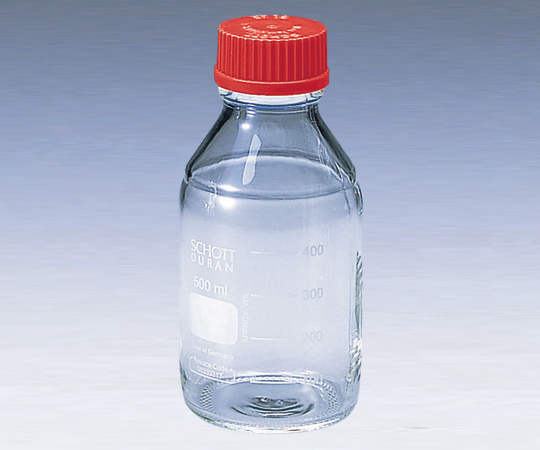 Screw-Top Bottle Round White (DURAN(R)) with Red Cap 25mL and others