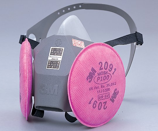 [Discontinued]Dustproof Gas Mask 6000DDSR/2091RL3 Size L 6000DDSR/2091-RL3