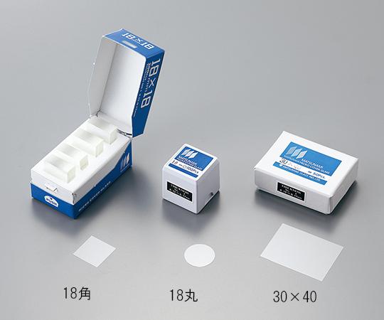 マツナミカバーグラス(No.1) 18×18mm角 1000枚入