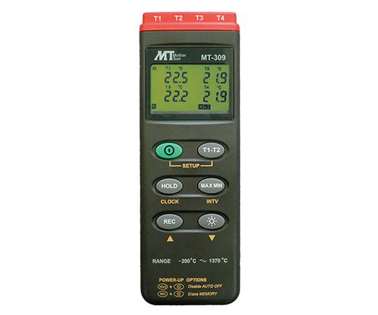 デジタル温度計(データロガ内蔵型)MT-309