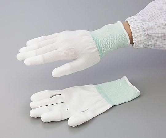 アズピュア PUクール手袋(オーバーロックタイプ) 指先 LL 10双入