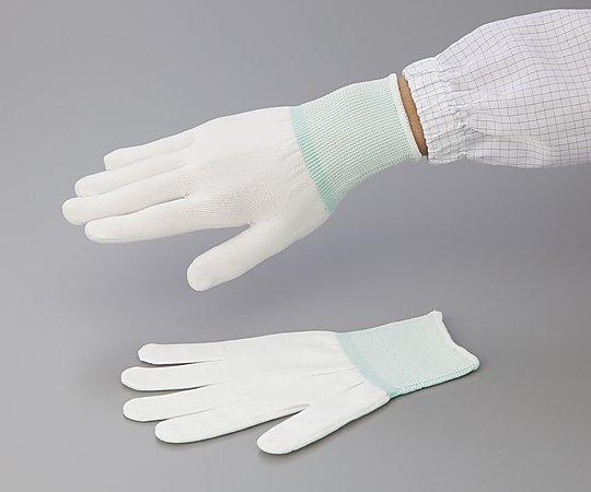 アズピュアインナー手袋 (オーバーロックタイプ) ポリエステル製 M 10双入