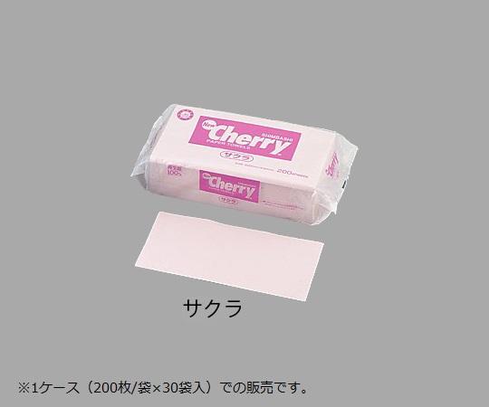 ペーパータオル(カラー) レギュラー 220×230mm ピンク 200枚×30袋 レギュラー サクラ