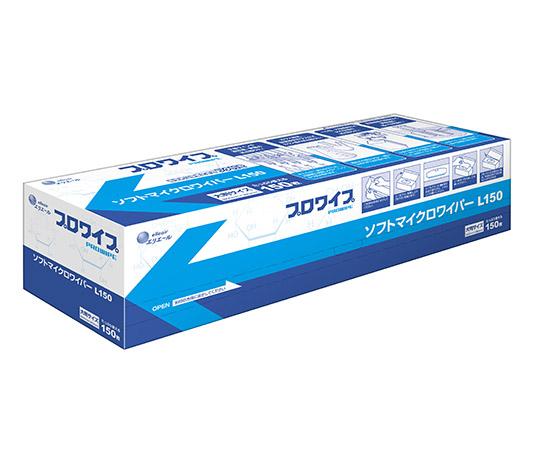 プロワイプ・ソフトマイクロワイパーL150 600×380mm L150 150枚×12箱 703242