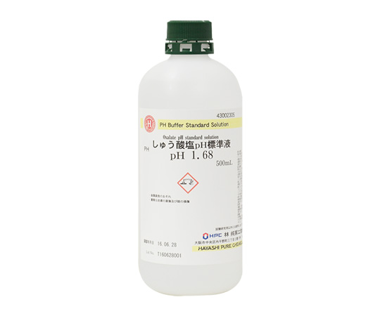 しゅう酸塩pH標準液 pH 1.68 500mL 43002305