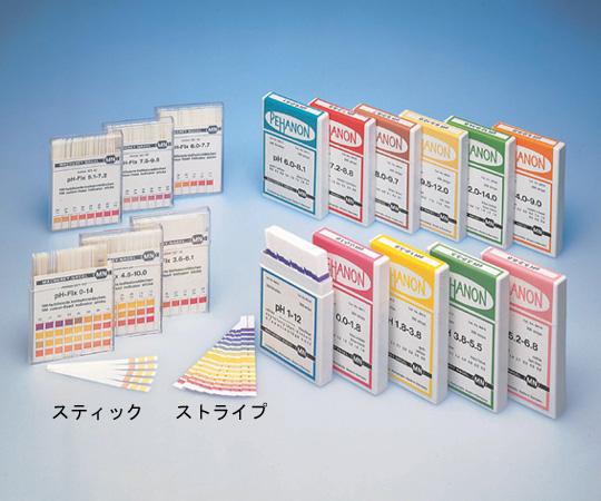 ストライプ・pH試験紙
