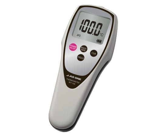 防水デジタル温度計 JCSS校正証明書付 WT-100