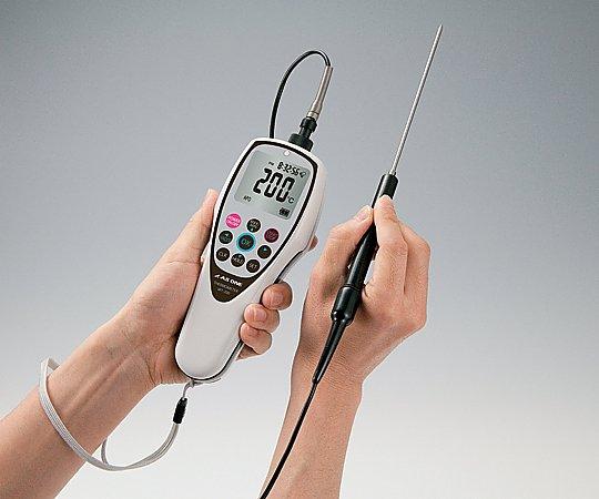 防水デジタル温度計 HACCPアラート機能付 JCSS校正証明書付 WT-200