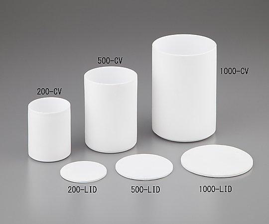 PTFE円筒容器 (薄型)