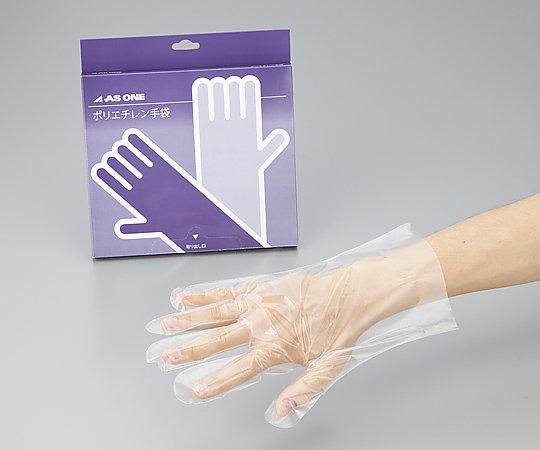 ポリエチレン手袋エコノミー 薄手 外エンボス付