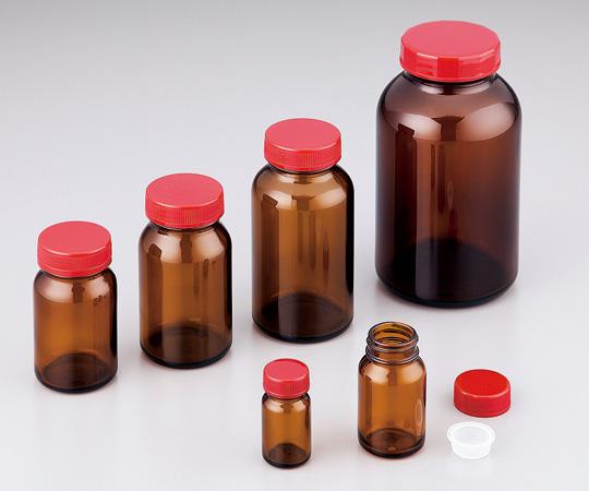 規格瓶(広口)茶褐色