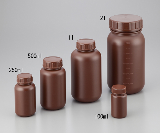 Wide-Mouth Bottle 100mL HDPE Product, Shading and others