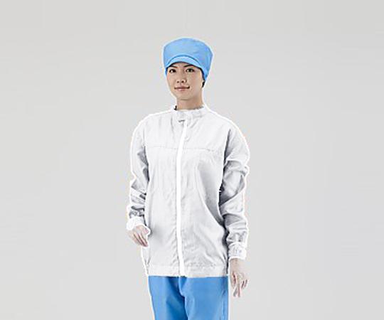 アズピュアクリーンジャケット M 白 SSJW-D