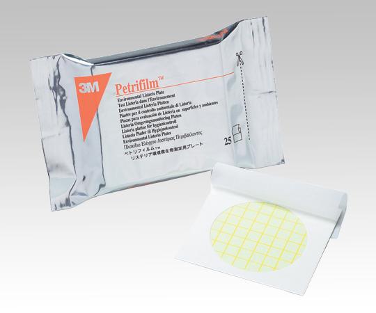 ペトリフィルム(TM)培地 ELプレート リステリア環境微生物測定用 200枚 6448EL