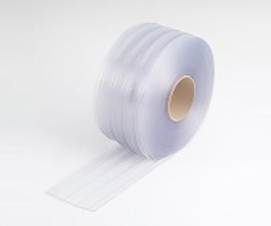 食品工場用ビニールカーテンシート 巾200mm×長さ30m ブルー 透明ブルーシート200