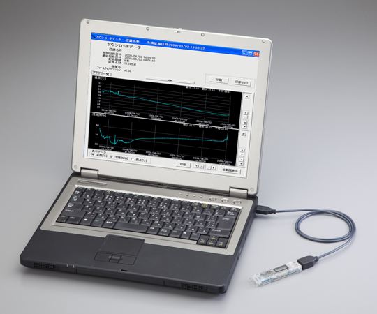 Thermo-Hygro Data Logger (USB Connection Type) RX-350THP