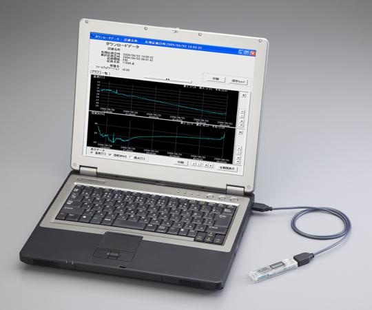 温湿度データロガー (USB直結タイプ) 校正証明書付  RX-350THP