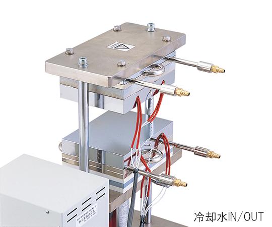 小型熱プレス機 (冷却機能付き) 0~1t HC300-01