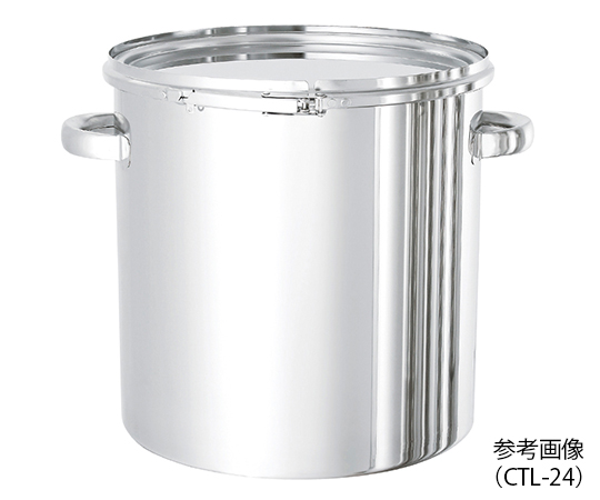 密閉式タンク (バンドタイプ・SUS316L) 20L CTL-30-316L