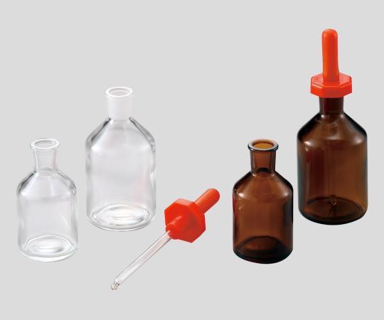 [取扱停止]スポイド瓶 透明 50mL C16302-0050