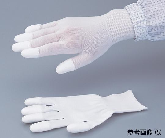 PUコートナイロン手袋(指先コート) 5双入 S