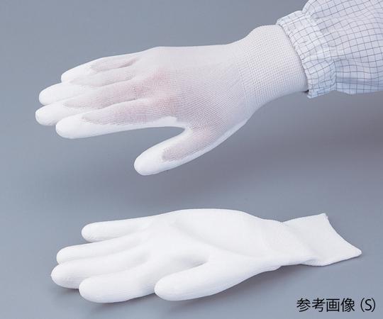 PUコートナイロン手袋(手の平コート) 5双入 L