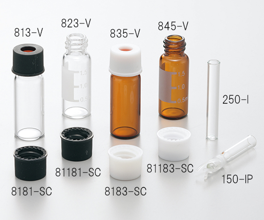 Black Cap for Vial 81181-SC
