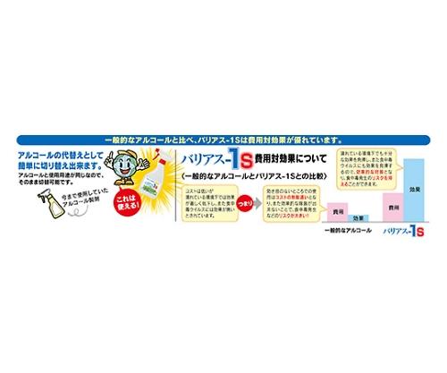 除菌剤(バリアス-1S) 4L