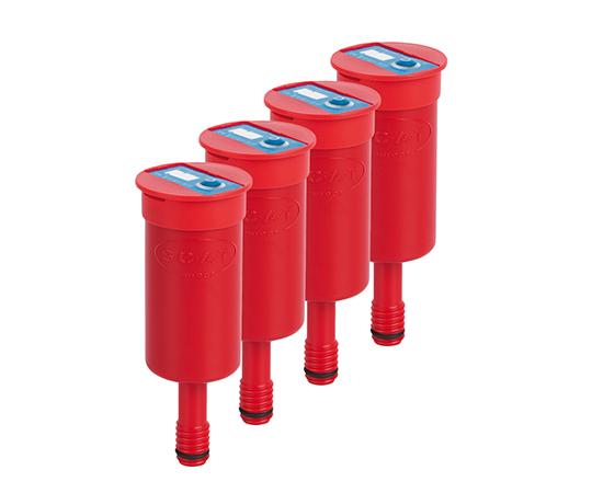 安全廃液キャップ用排気フィルター(2.5Lタンク用) 4個入 190335