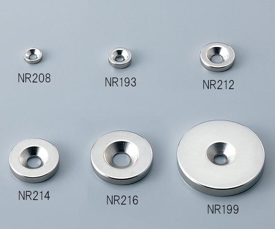 ネオジム磁石 (丸型・皿穴付)
