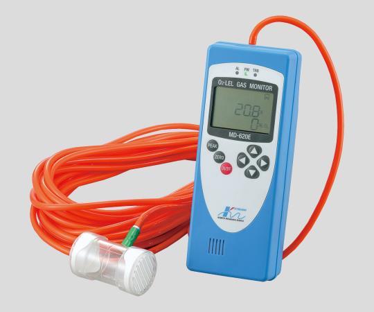 複合型ガス測定器MD-620E<トレーサビリテイ証明書・試験成績書・トレーサビリテイ体系図 付>