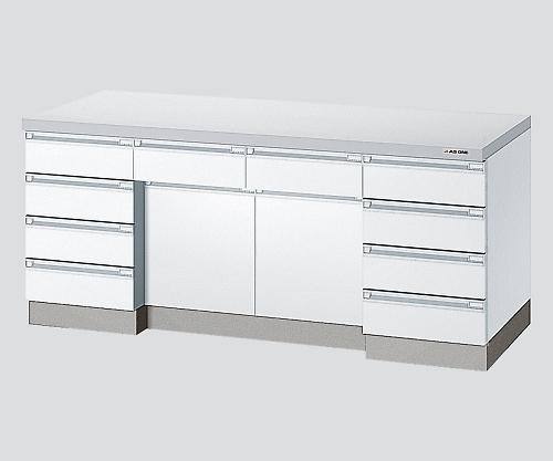 サイド実験台 ホワイト・木製タイプ