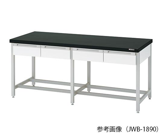 作業台 (スチール製・両面引出し付き) 1800×900×800mm JWB-1890
